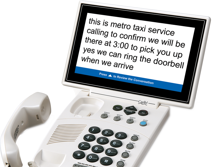 CapTel 880i Captioned Telephone