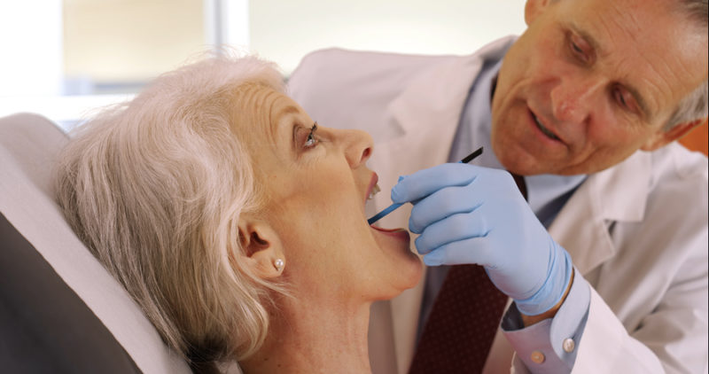 One of our oral care tips for seniors is to visit your dentist regularly.