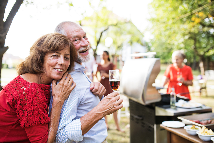 One of our tips for enjoying a summer barbecue with hearing loss is to find a good spot.