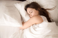 One health benefit of sleep is that it helps regulate your weight.