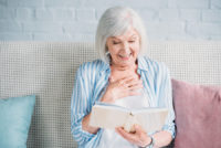 One benefit of reading for seniors is that it can improve brain functioning.