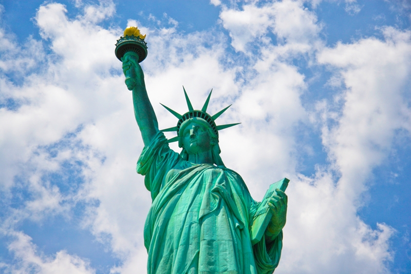 Visiting the statue of liberty is a fantastic hearing loss friendly activity.