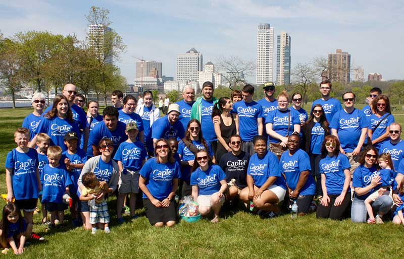 Hearing Loss Association of America Walk4Hearing team photo