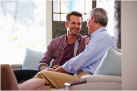 One of the signs of hearing loss is asking you to repeat your words more often.