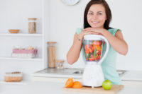 One of the ways to eat more vegetables and fruit is to experiment with smoothies.