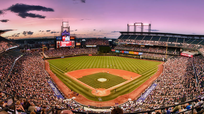 Coors Field is one of the hearing loss-friendly MLB stadiums around the country.