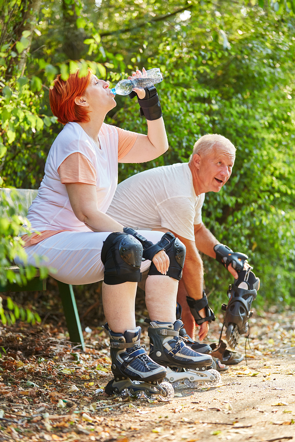 One of our summer safety tips for seniors is to stay hydrated.