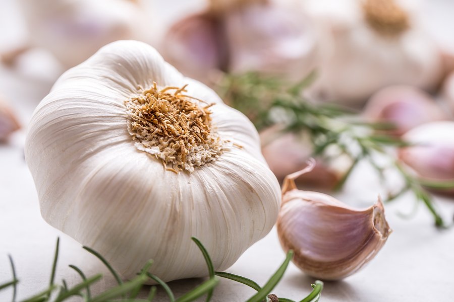 Garlic is one of the healthy herbs and spices that can add more flavor and nutrition to your meals