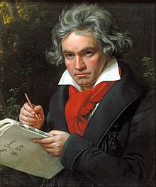 One famous musician with hearing loss is Beethoven.