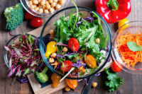 One health benefit of eating vegetables is the reduced risk of heart disease.