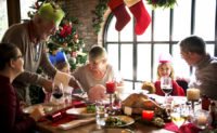 One tip for navigating holiday gatherings with hearing loss is to request accommodations ahead of time.