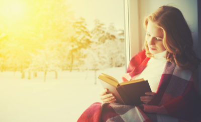 Situating yourself near a window is one of the ways you can beat the winter blues.