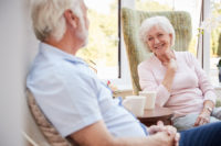 One tip for finding senior housing is to create a list of needs and wants.