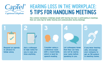 Hearing Loss in the Workplace: 5 Tips for Handling Meetings