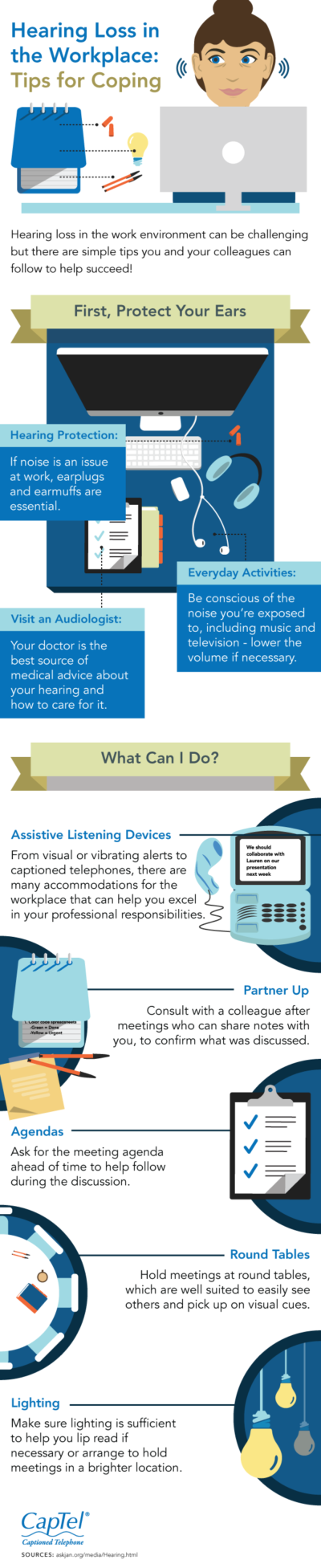 Hearing Loss in the Workplace: Tips for coping