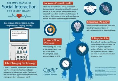 Importance of Social Interaction for Senior Health
