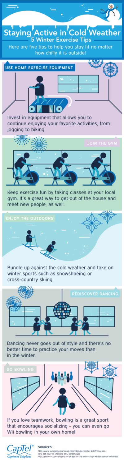 Staying Active in Cold Weather: 5 Winter Exercise Tips