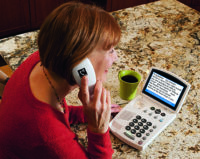 One sign a phone for hearing loss may be right for you is struggling to catch every word.