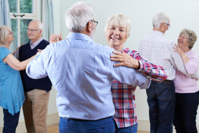 One of our social wellness tips for seniors is to make new connections doing the things you enjoy, like dancing.