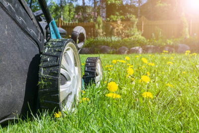One tip to protect your hearing from summer sounds like lawn mowers is to limit exposure and take a break.