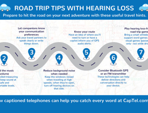 Road Trip Tips with Hearing Loss [Infographic]