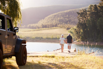 One of the summer activities for seniors on our list is to take a road trip.