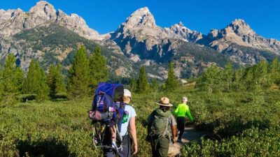 One of the hearing loss-friendly national parks on our list is Grand Teton National Park in Wyoming