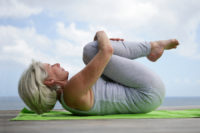 Yoga is one of the many relaxation techniques for seniors to try.