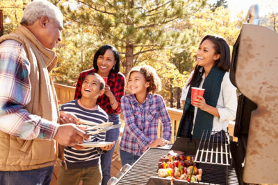 One of the fall activities to do with your grandkids is teach a family recipe