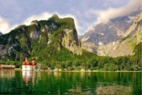 One of the hearing loss-friendly destinations in Germany is Bavarian Alps.
