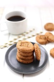 One of the healthy dessert recipes in this post is peanut butter cookies