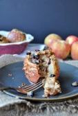 One of the healthy dessert recipes in this post is baked apples
