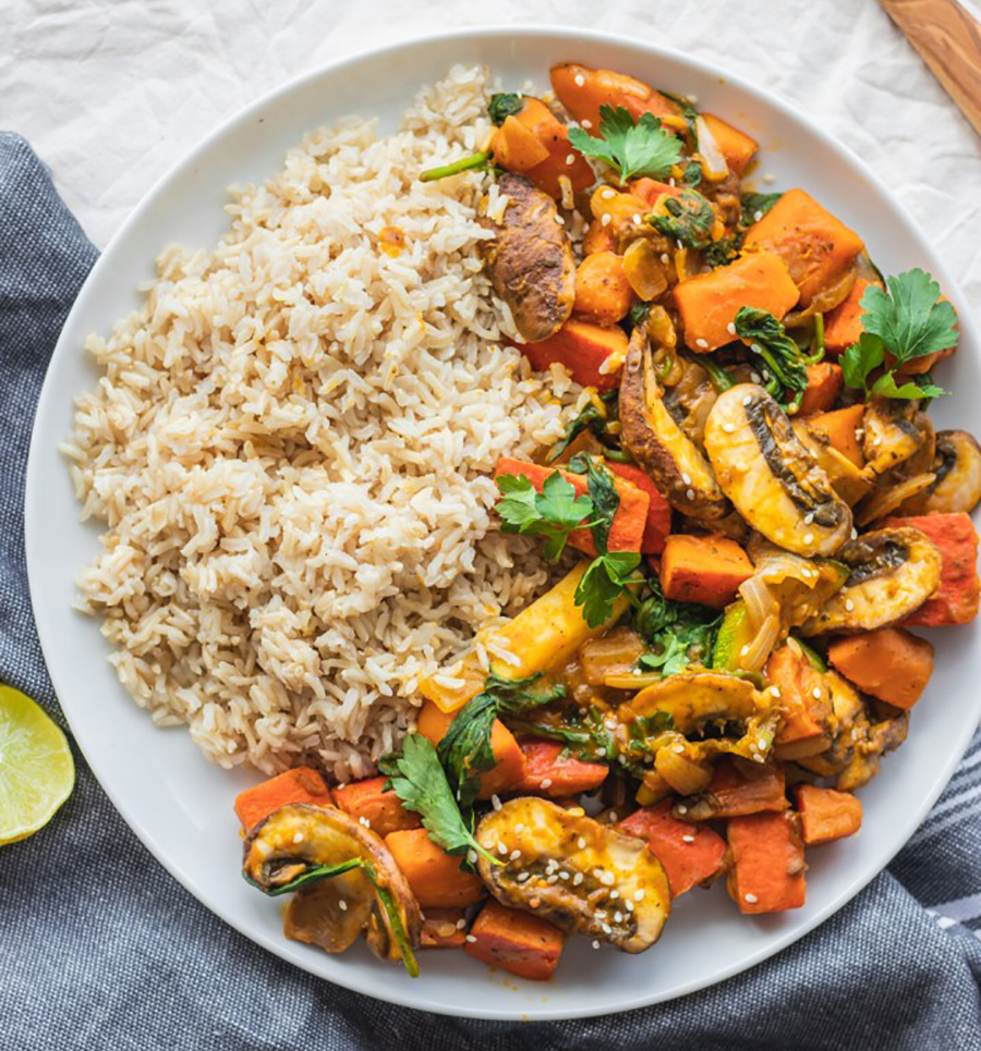 One healthy pumpkin recipe to try is vegetable pumpkin stir-fry