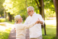 Another health benefit of dancing for seniors is that it can lessen joint pain.