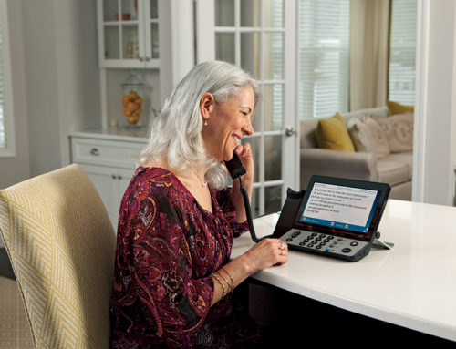 Advantages of Captioned Phones for People with Hearing Aids