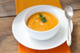 One of the healthy ways to use holiday meal leftovers is make pumpkin sweet potato soup