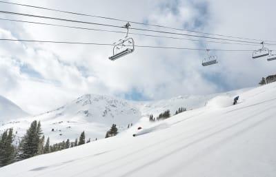 Breckenridge, CO is one hearing loss-friendly ski vacation spot.