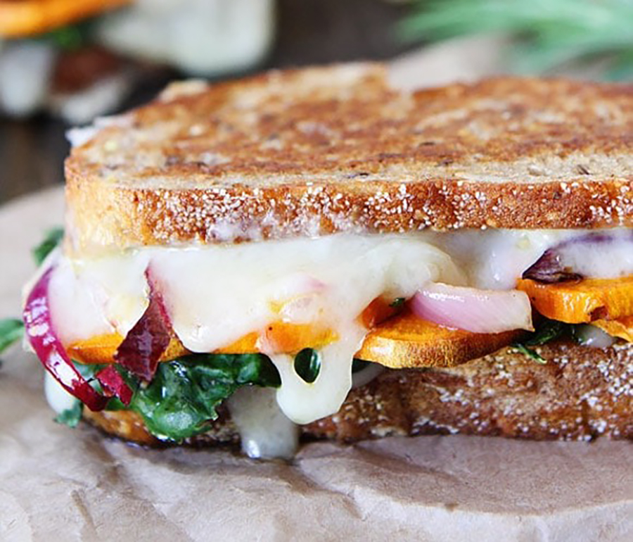 These healthy grilled cheese recipes contain powerful nutrients and robust flavors.