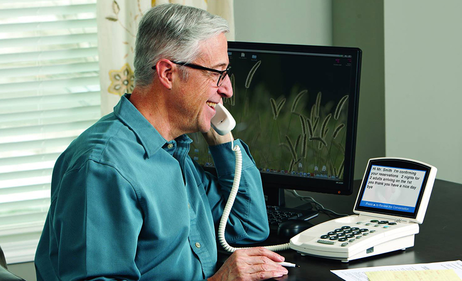 CapTel's hearing aid compatible telephones provide a variety of benefits for users.