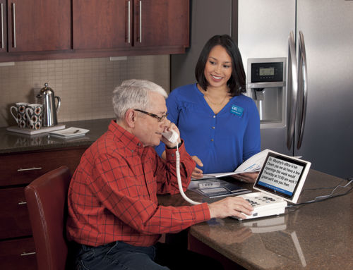 Guide to Using CapTel 880i Captioned Phone for Hearing Loss