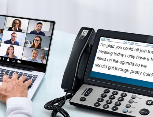 Joining a Zoom Call with Captions