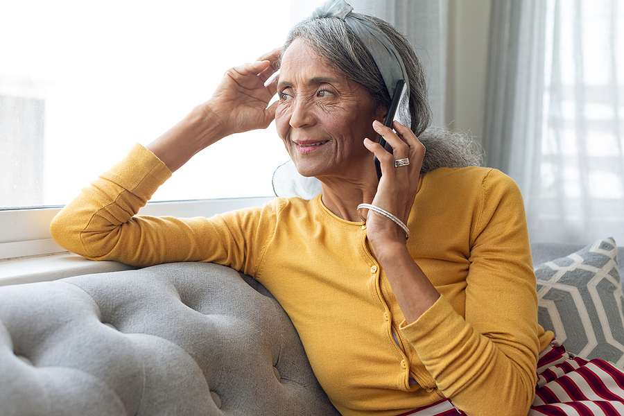 Read this post for tips on talking on the phone with hearing loss.