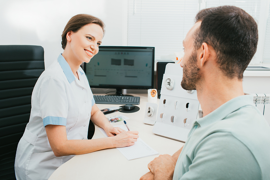 A good audiologist-patient relationship is essential.