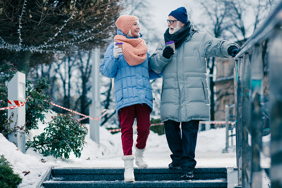 It's important to practice cold weather safety for seniors during the winter months.