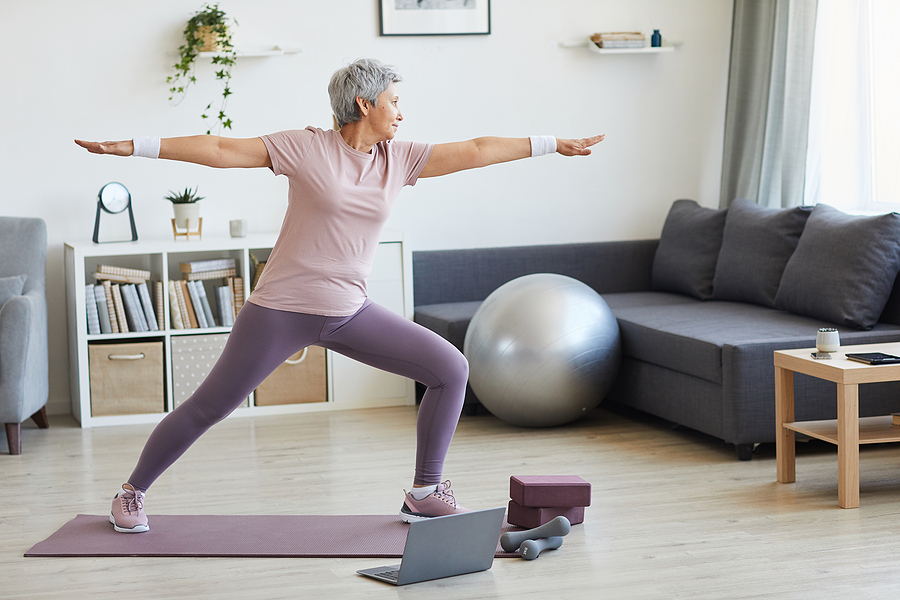 Use these ways to stay active indoors to stay healthy and safe from the comfort of your home.