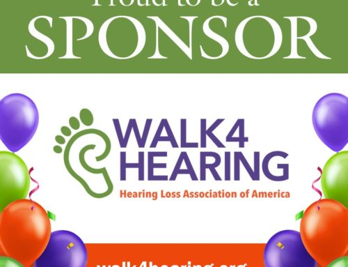 Hearing Loss Association of America Walk4Hearing is on June 12-13