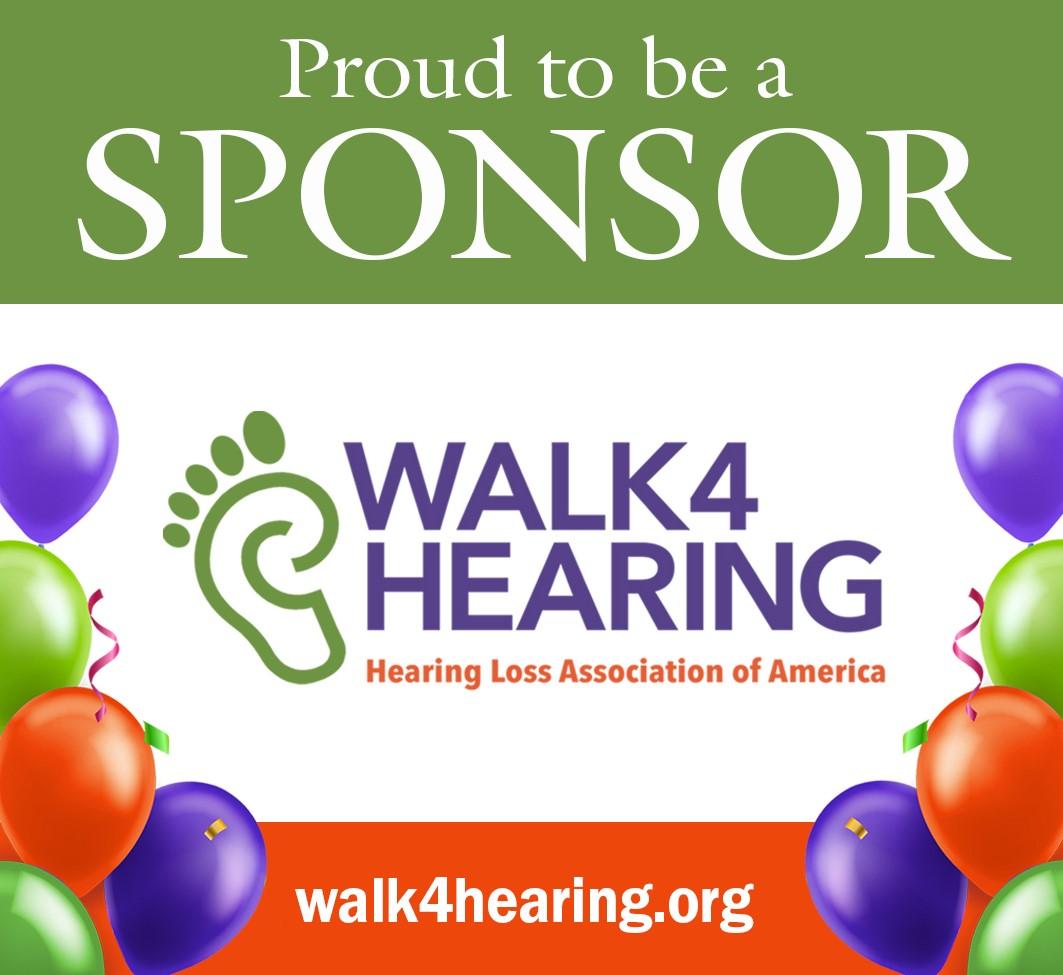 Hearing Loss Association of America Walk4Hearing is on June 12-13