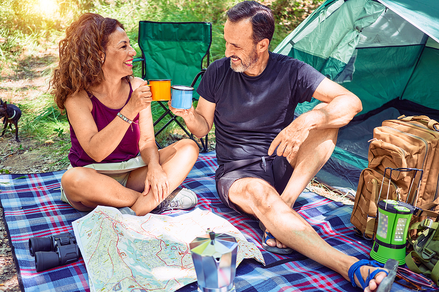 Camping with hearing loss requires a few accommodations, such as bringing a travel hearing aid care kit.