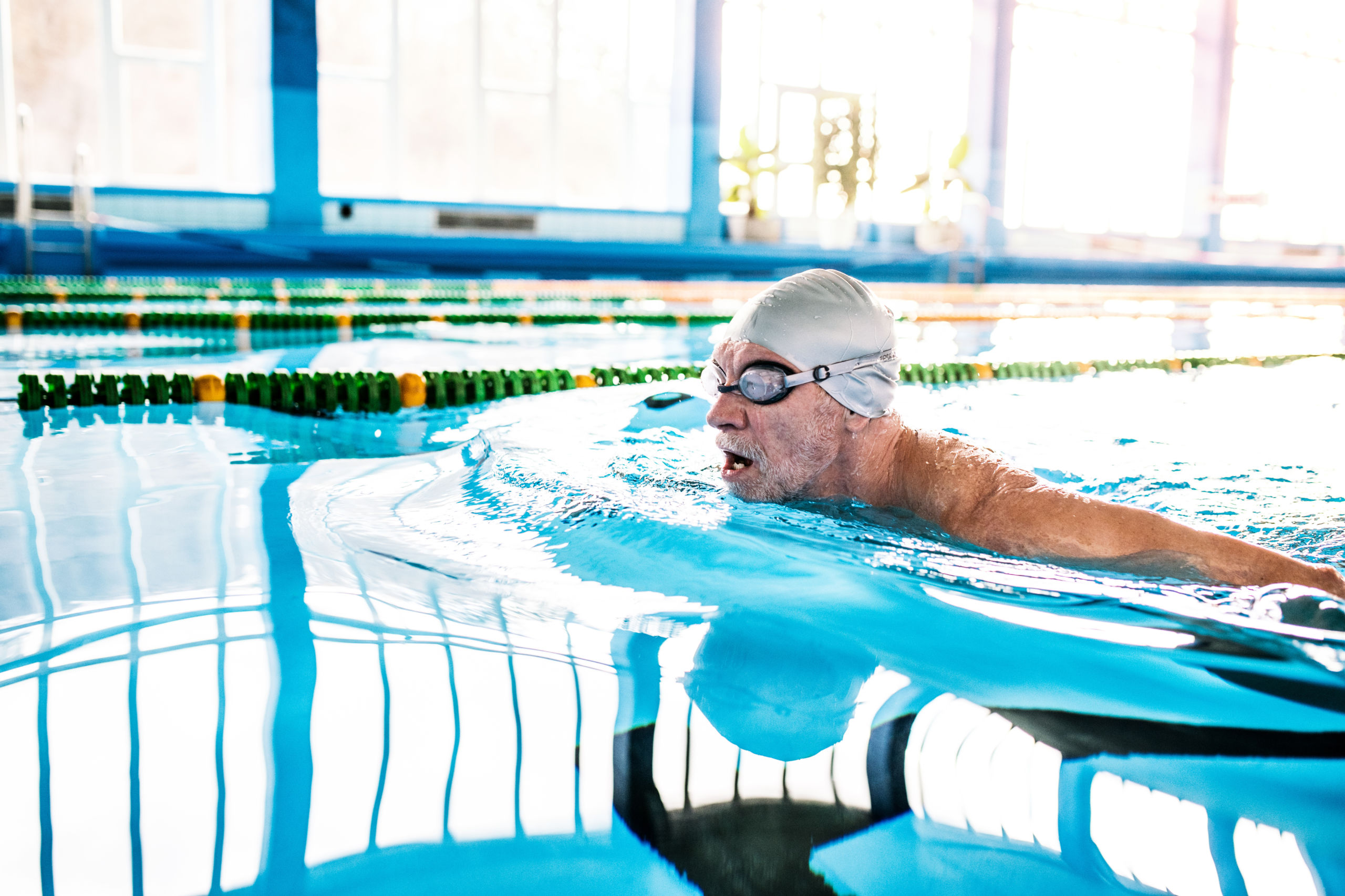 These swimming exercise tips can help you start a new aquatic exercise routine with confidence.