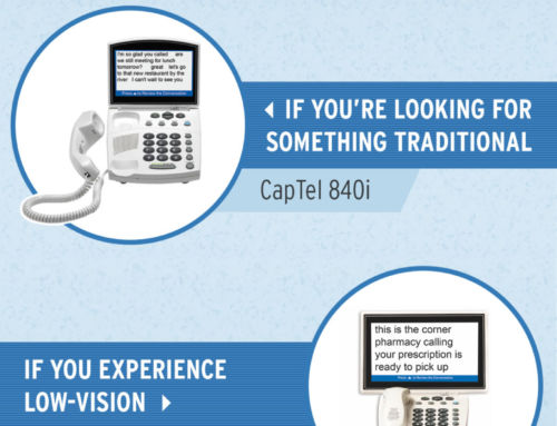 How to Choose a CapTel Captioned Telephone for Hearing Loss [Infographic]